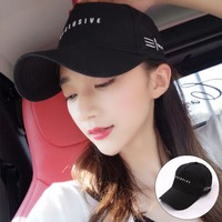 Free shipping Baseball Cap Casual Style Angled Brim Breathable Water Absorption Adjustable Cotton Peaked Hats