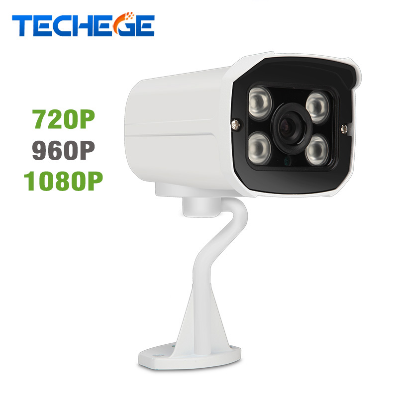 Techege 1080P IP Camera HD 2 0MP Security Camera night vision Onvif motion detection P2P IR