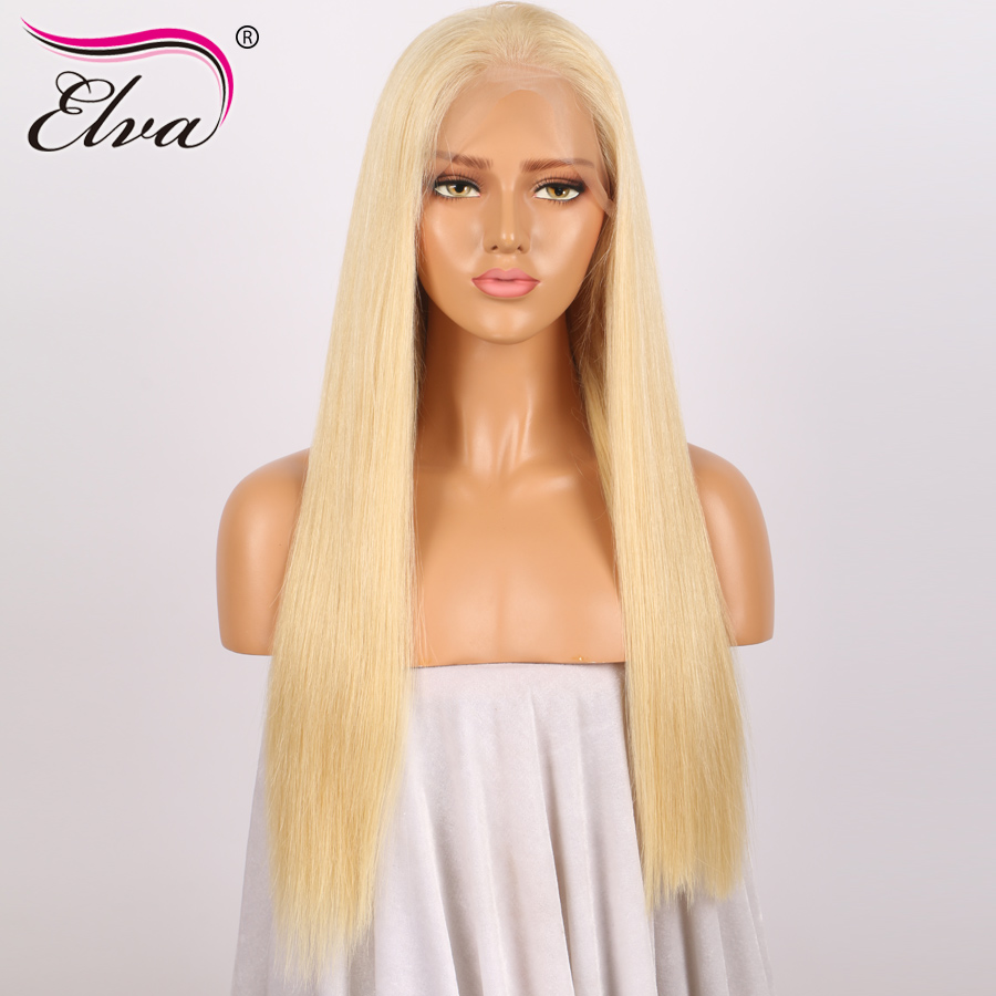 613 Full Lace Human Hair Wigs For Black Women Straight Brazilian Human Hair Full Lace Wigs