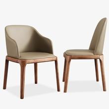 Стул для дома из твердой древесины, обеденный стул, современный простой стул, заднее сиденье, стол, нордический твердый деревянный сетчатый красный стул для макияжа