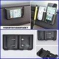 1X Universal Car Organizador Caja Del Coche de múltiples funciones del teléfono móvil marco de navegación titular de almacenamiento Bolsillos Bolsa Automotriz