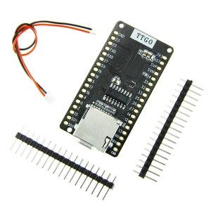 Image 1 - LILYGO®Ttgo ESP 32 v1.3 rev1 placa de desenvolvimento t1 4 mb flash cartão sd módulo wi fi bluetooth