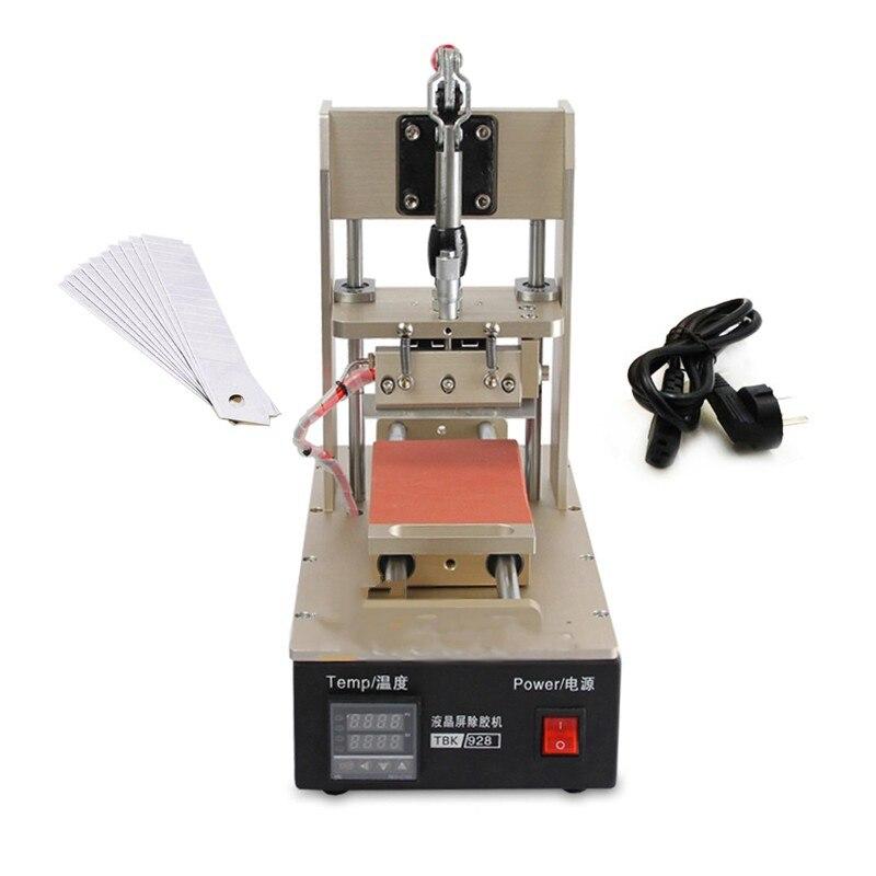 Free shipping TBK-218 UV Glue Remover Machine LOCA OCA Adhesive Clean Device for iPhone Polarizing Film Remove Machine