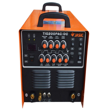 1pc JASIC WSE-200P TIG200P AC/DC TIG/MMA Square Wave Pulse Inverter Welder 220-240V With Foot Control Pedal