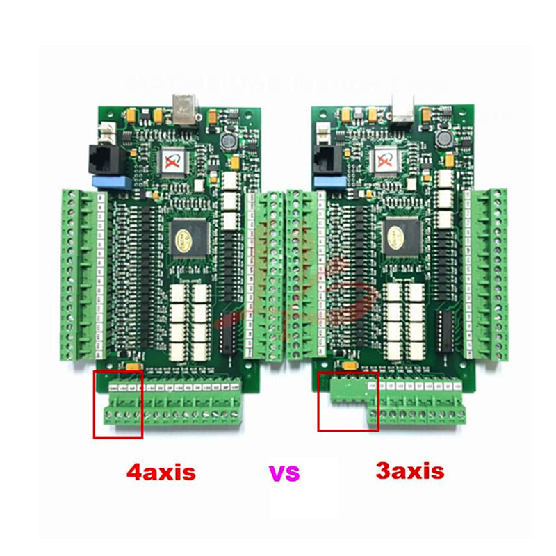 цена на NEW mach3 motion control card three axis breakout interface board for CNC router