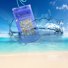 GULYNN Universal Waterproof Pouch  Case Cover For 5.5 inch Phone Mobile phone Transparent Bags iphone X 8 7 6 5S