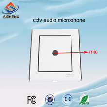 SIZHENG COTT-C6 CCTV microphone low noise wall sound pickup audio monitor for surveillance cameras and DVR