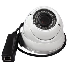 Full HD 1080P varifocal dome ip camera 2MP POE with 2.8-12mm Varifocal lens for outdoor waterproof Security