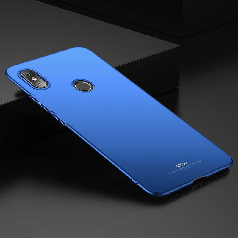 new product d8a0a b2ef7 xiaomi Redmi S2 case msvii ultra-thin Full Protective phone Back Cover For  xiaomi Redmi Y2 case Redmi S2 global version cases