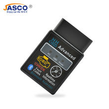 Jasco Mini ELM327 OBD2 II Car Auto Interface Scanner Bluetooth Diagnostic Tool Compatible Phones Smart Scan Tool segotep and mini computer case support m atx itx motherboard