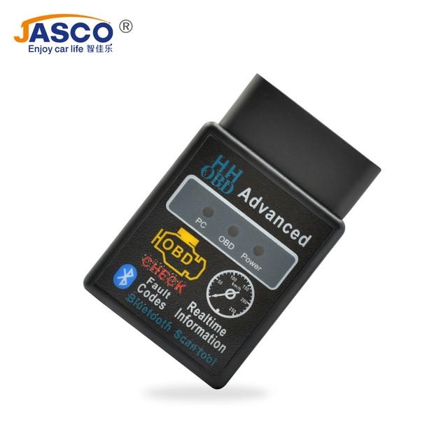 Jasco Mini ELM327 OBD2 II Car Auto Interface Scanner Bluetooth Diagnostic Tool Compatible Phones Smart Scan Tool