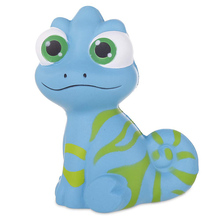 2019 New Jumbo Big Eyes lizard Squishy Slow Rising Kawaii Smooth Squeeze Toy Bread Cake Scented Stress Relief Fun for Kid Gift