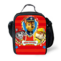 Cartoon Puppy Patrol Marshall Lunch Bags Picnic Portable Bags For Boys Girls School Bags Thermal Food Container