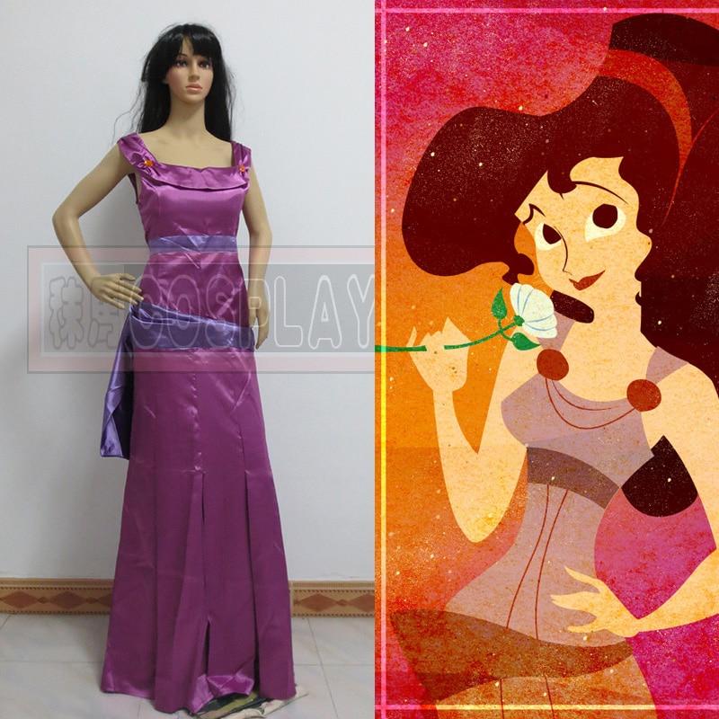 New Arrival Princess Megara Hercules Movies Dress Cosplay