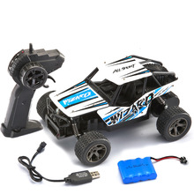 1/20 2.4G High Speed Racing RC Car Big Foot High Speed Off-Road Vehicle Toy Alloy Car Shell