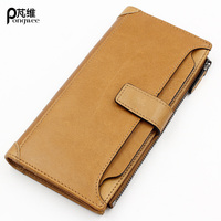 PONGWEE Successful Men Wallet 100 Top Quality Cow Genuine Leather Men Wallets Fashion Purse Dollar Price