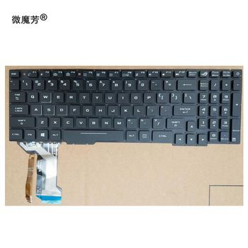 US Laptop Keyboard For ASUS GL553 GL553V GL553VW ZX553VD ZX53V ZX73 FX553VD FX53VD FX753VD FZ53V English keyboard with backlit