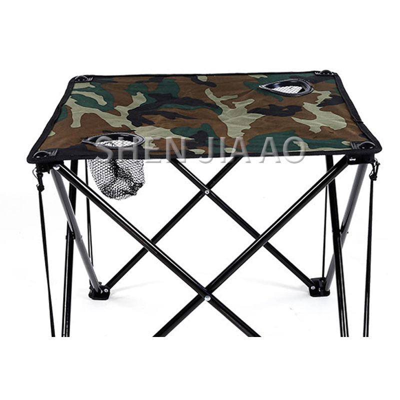 Outdoor Folding Table And Chair Set Portable Picnic Table And Chairs 5pcs/ Set Field Folding Table And Chairs