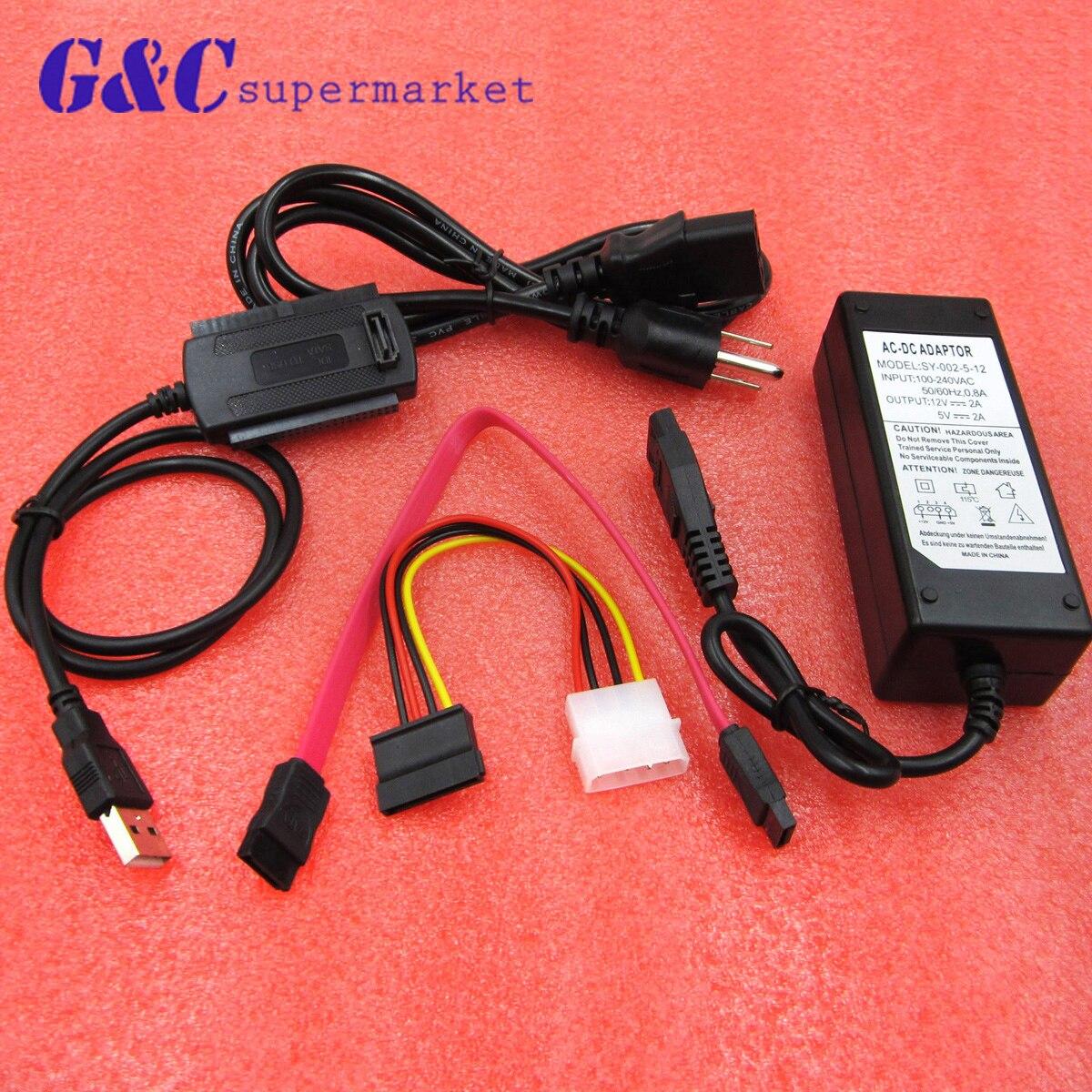 USB 2.0 A IDE SATA S-ATA 2.5 3.5 Disco Duro HD HDD Adaptador Convertidor Nuevo MOSUNX Futural Digital Venta Caliente F35