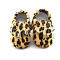 2016 New Fashion Super Warm Winter leopard Baby Boots baby moccasins Infant Shoes Khaki Keep Warm Baby Shoes First Walkers horse