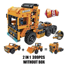 Technic Series Jeep Loader 2 In 1 Changed Warrior Creative Building Block Set Compatible With Legoings Bricks Kits Toys bela 8031 military thunder air force chinook creative technic building block set bricks kits toys children gifts