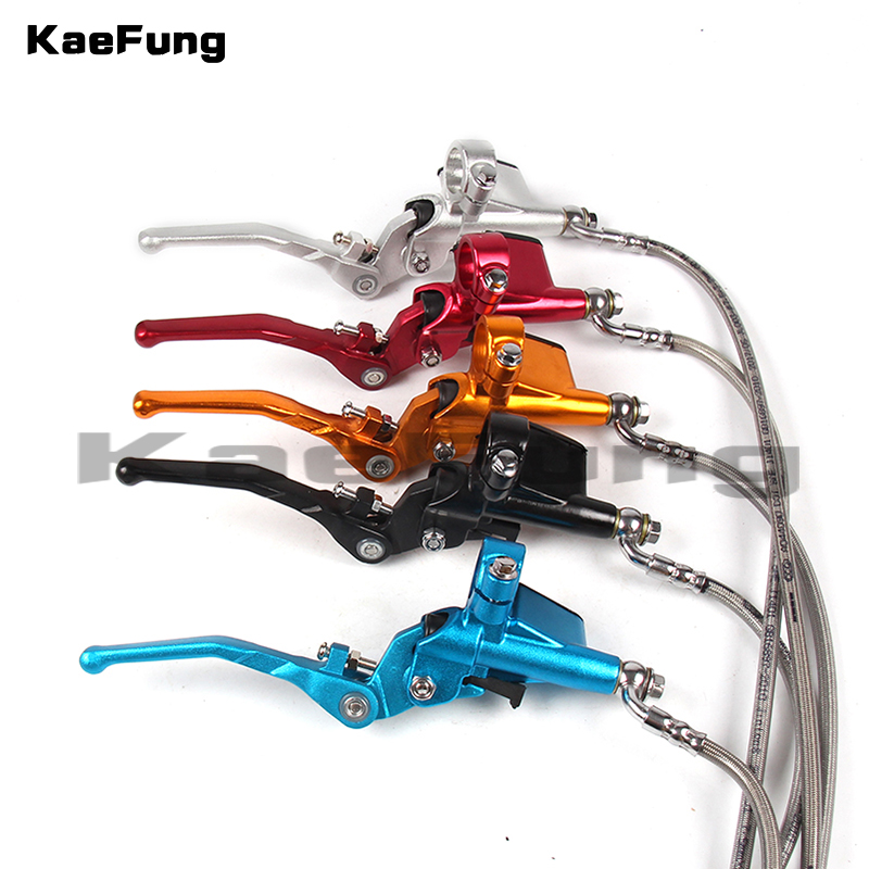 Motorcycle Hydraulic Clutch Lever Master Cylinder 900mm For KAYO BSE Xmotos 125cc 140cc 150cc 160cc Dirt Pit bike
