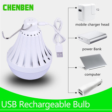 LED Light Bulb E27 USB Rechargeable Led Lamp 220V 12W 20W 30W E27 Emergency Energy Saving Leds Bulbs Lights for Outdoor Camp