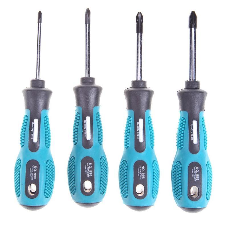 Y Shape 4 PCS Triangle Screwdriver Set Electrical Appliances Repair CR-V TPR Handle Home Useful Multi Screwdriver Tool