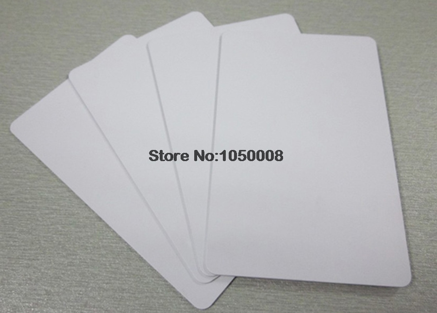 100pcs pvc 860-960mhz passive long range uhf rfid card tag for door access control card/ personnel ID card VIP membership card 860 960mhz long range passive rfid uhf rfid tag for logistic management