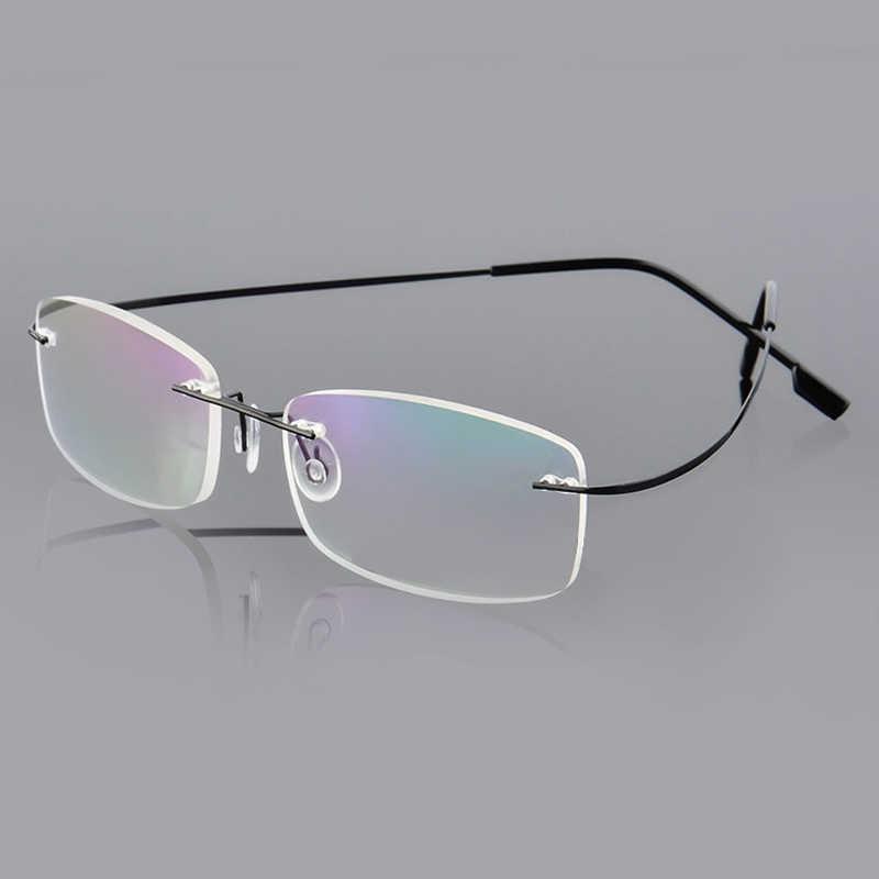6ccb9d97f9 Mayitr 1pc Unisex Flexible Reading Glasses 9 Colors Lightweight Rimless  Rectangular Reading Glasses +1.0~
