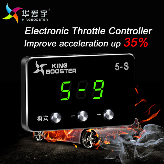 Kingbooster Electronic Throttle Controller Throttle Accelerator