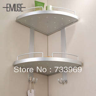 online shop emuse double bathroom stand tripod thick shelving wall