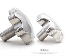 4PCS/LOT . Diameter:70mm M10 Stainless steel Plum handle handwheel parts
