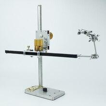 TRASPORTO LIBERO del DHL di Alta qualità PTR 400 40 centimetri ferroviario verticale e orizzontale lineare avvolgitore del sistema di perforazione per stop motion animazione video