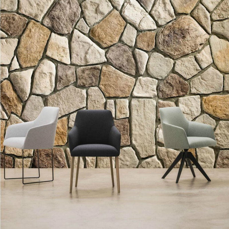 Home Improvement Decor 3D Wallpaper For Walls HD Stone Background Wall Papers Mural For Living Room