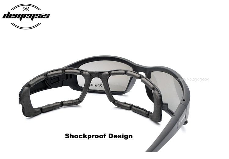 Military Goggles Sunglasses With 4 Lens Original Box Men Shooting Eyewear