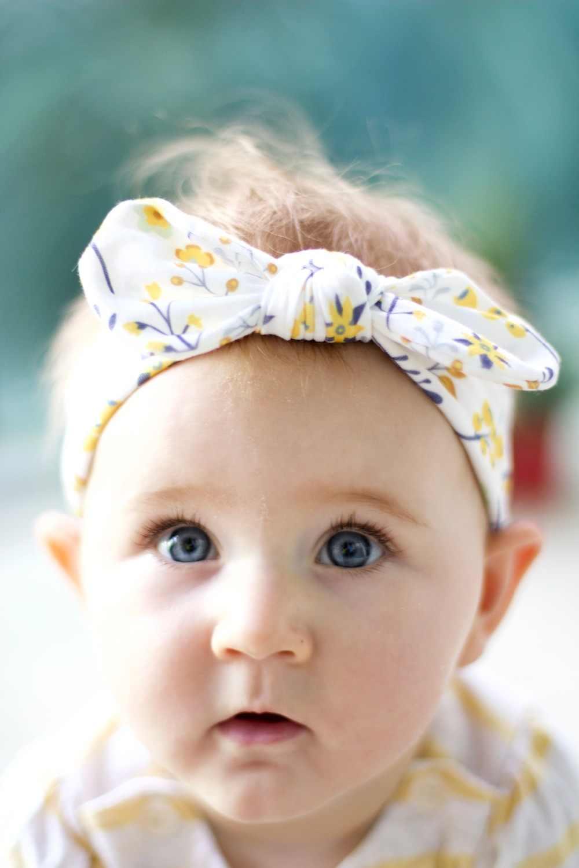 3 шт./лот Одежда для новорожденных; комбинезон для малышей из хлопка ободок с бантом ухо эластичная резинка для волос наголовный обруч для тюрбаны Детские волосы для девочек Аксессуары