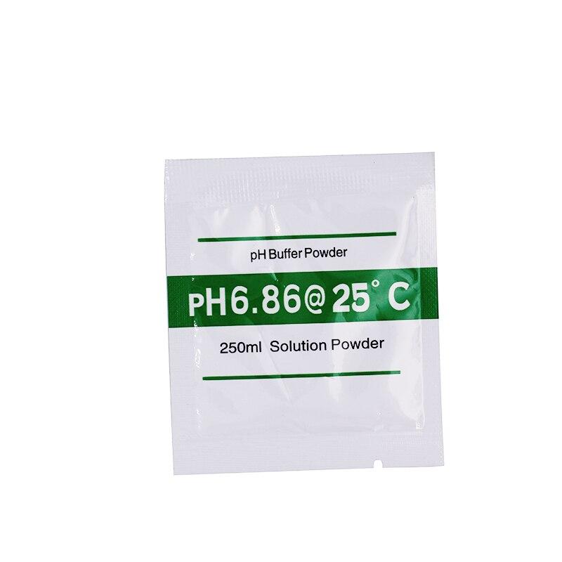 200 pz / lotto Nuova polvere tampone PH per misuratore di pH Misura - Strumenti di misura - Fotografia 2