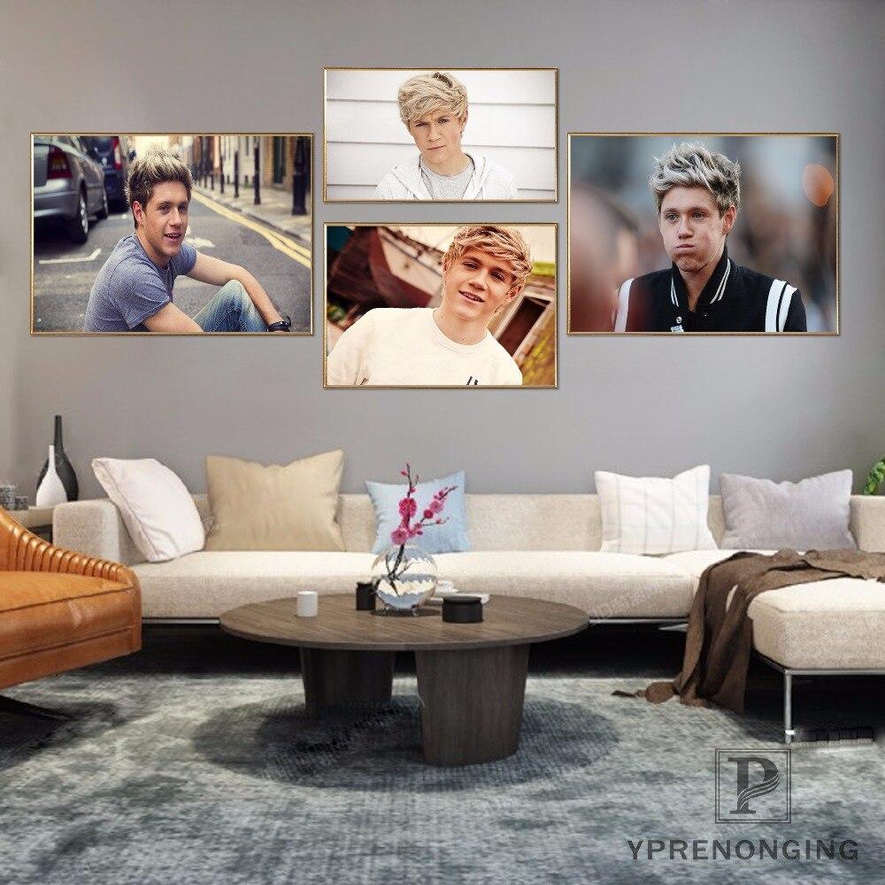Пользовательские One Direction плакат Книги по искусству домашнего декора Холст печати шелковой ткани Принт плакат без рамки 180317 @ 25