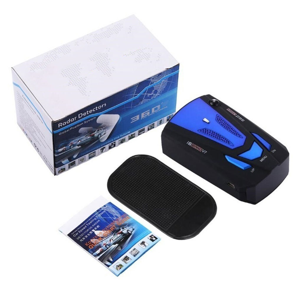 Vehemo LCD Display Velocity Radar Security Protection Car Radar Advanced Vehicle Radar Detector Monitor Alarm System