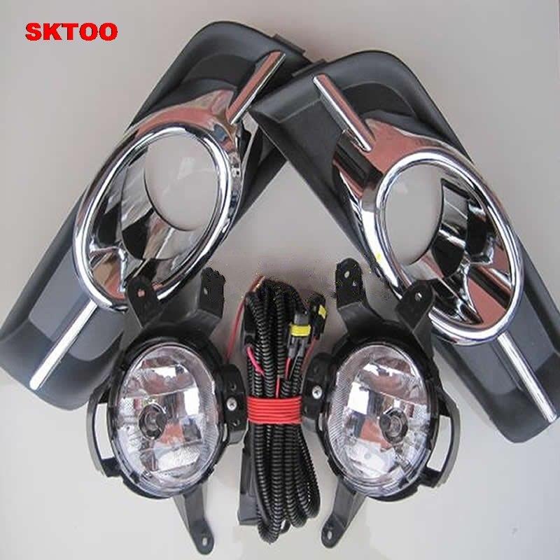 SKTOO Car Fog Light for Chevrolet Cruze 2009 2010 2011 2012 Left and Right Fog Lamp