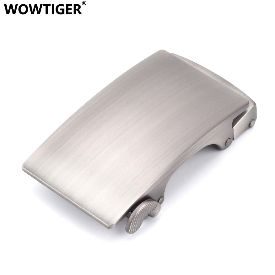 WOWTIGER Mens Women Automatic Belt Buckles Suitable For 35mm Boucle De Ceinture Ebilla Cinturon Buckle Boucle Ceinture