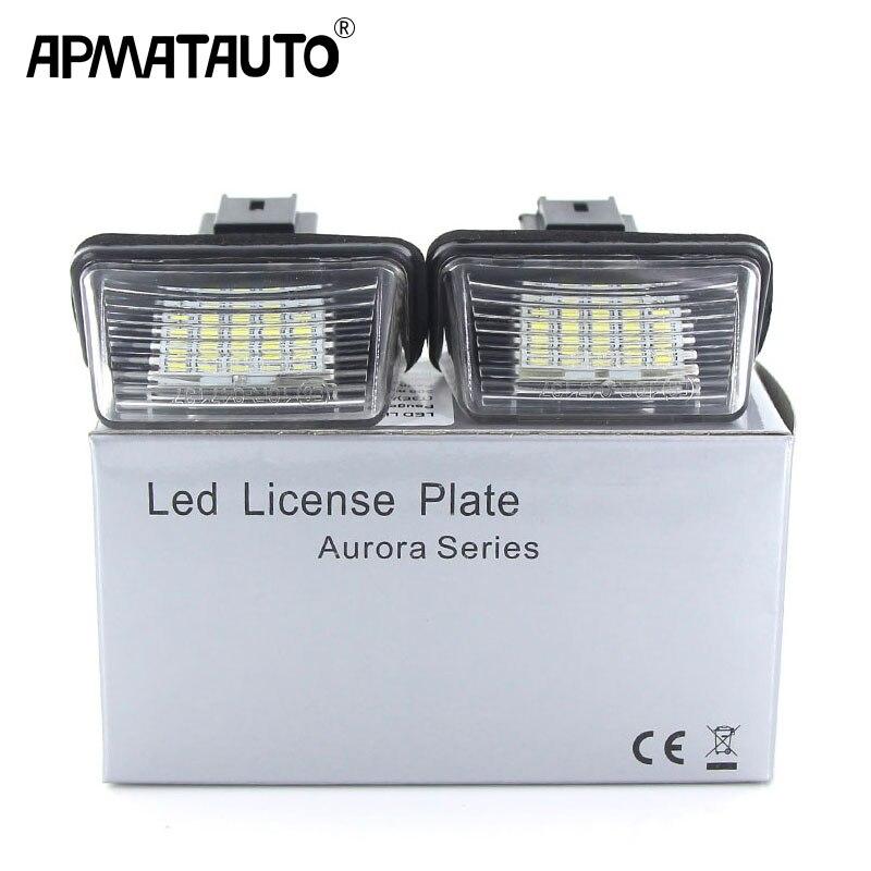 2x Citroen C8 Genuine Osram Original Number Plate Lamp Light Bulbs