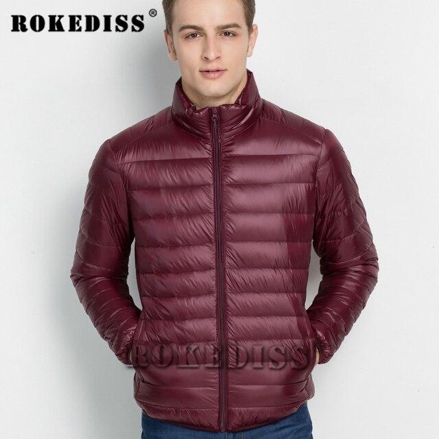 2017 Moda Inverno Dos Homens Para Baixo Parkas Homens Marca Ultra light Down Jacket Branco Duck Down Jackets Plus Size S-4XL weightlight G191