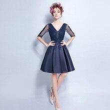 Verdadeiro Bilder Sheer decote frisada de cristal curto Prom vestidos V Zurück Cocktail vestidos de festa