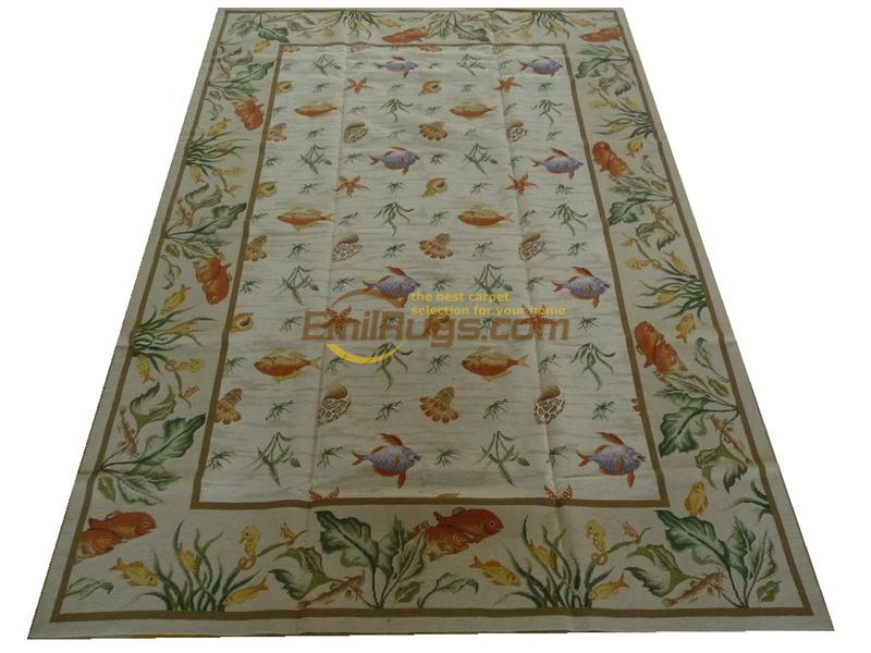 Old Hand-made Traditional Wool Needle-point Carpet Hand-stitched Carpet For Carpets Living Room Natural Sheep WoolOld Hand-made Traditional Wool Needle-point Carpet Hand-stitched Carpet For Carpets Living Room Natural Sheep Wool