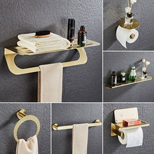 Bathroom Hardware Set Towel Rack Paper Holder Towel Bar Corn