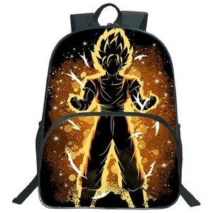 Image 5 - Hermosos bolsos de Dragon Ball Z Goku para niños, mochila para niños y niñas, mochila para portátil con patrón colorido a la moda, para volver a la escuela