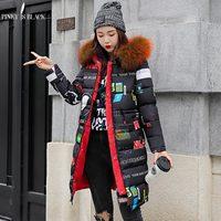 PinkyIsBlack Fashion Hooded Warm Long Parkas Thick Winter Coat Women 2018 Two Side Wear Down Cotton Winter Jacket Women Outwear