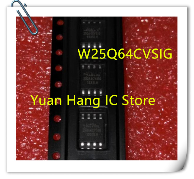 Hot Sell 5PCS 25 Q 64 fvsig W 25 Q 64 fvsig 25Q64FVS1G W 25 Q 64 fvssig SOP8 Puce IC